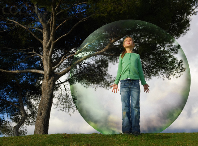 Psychic Protection Bubble Julia George